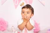fotos de smash cake cumpleaños bebe - foto