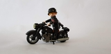 playmobil Motorista de la SS aleman - foto