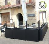 paravientos y biombos para terrazas - foto