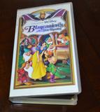 VHS Blancanieves y los siete enanitos - foto