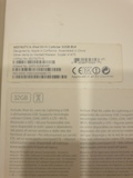 caja ipad air modelo a1475 32 gb - foto