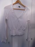Blusa Blanca Talla S - foto
