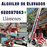Alquiler de elevador 622087663 - foto