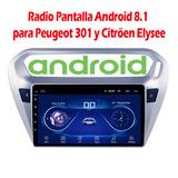 Radio Android para peugeot 301/elysee - foto