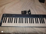teclado m key v2 instrumento musical - foto