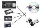 Cintas VHS, 8mm, DV, ... a DVD y Pen - foto