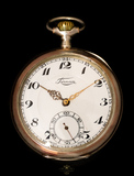 reloj suizo de plata VENDIDO - foto