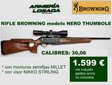 Rifles browning mod. nero thumbole - foto