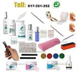 completo kit de uñas acrilicas porcelana - foto