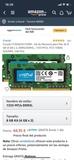 memoria RAM Crucial 8GB - foto