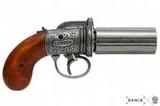 Denix pistola 6 caÑones - foto