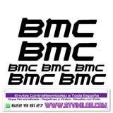 vinilos bmc para bicicleta casco cuadro - foto