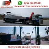 TRANSPORTE DE BARCOS POR CARRETERA - foto