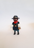 playmobil oficial de caballería - foto