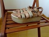 Sandalias de piel - foto