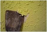 Eliminar goteele, alisar paredes - foto