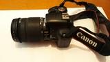 Camara Canon digital y objetivo Sigma - foto