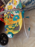 hamaca silla bebe con musica y vibracion - foto