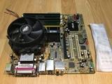 Placa base asus+procesador.Dual Core+2 - foto