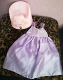 Vestido baby born princesa y orinal - foto