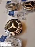 Tapas llantas Mercedes 75mm (4 Colores) - foto
