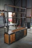 muebles industrial estiló vintage - foto