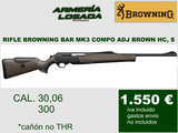 Rifles browning composite brown - foto