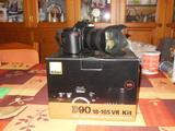 Nikon d90+nikon 18-200 vrii - foto