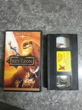 Película vhs El Rey León - foto