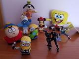 Lote Bob Esponja Disney Minions Naruto - foto