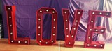 Alquiler letras para bodas - foto