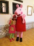 animación infantil con peppa pig - foto