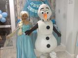 elsa,Olaf,Anna Frozen animacion infantil - foto
