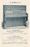 Piano de pared antiguo de 150 años - foto