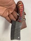 Damasco Cuchillo con funda - foto