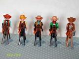 Playmobil vaqueros con caballos del oest - foto