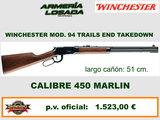 Rifle winchester mod. 94 - cal 450 m. - foto