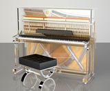 Pianos verticales de cristal Bluthner - foto