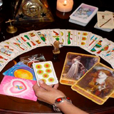 Tirada de cartas del tarot telefÓnica - foto