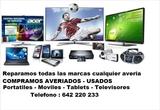 Compro tv y portÁtiles averiados - foto