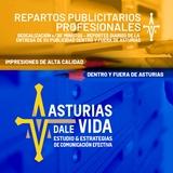 Reparto Carteles Flyers en toda Asturias - foto