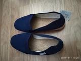 zapatillas azules nuevas n37 - foto