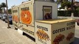 Remolque Churreria cafetería gofres - foto