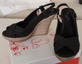 Zapatos cuÑa negros n°39 - foto
