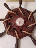Timon de Madera tallada - foto