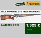 Rifle browning thumbole - foto