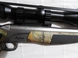 Rifle monotiro Bergara Apex - foto