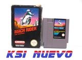 Juego nintendo NES mach rider - foto