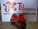 Moto infantil ruedas anchas Injusa roja - foto