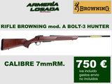 rifle browning cerrojo -a bolt-3 hunter - foto